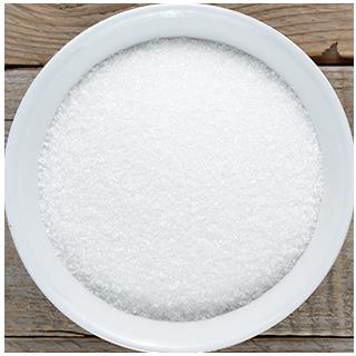 skål med sukker